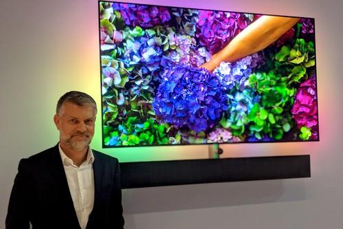 """""""Otros llegaron antes al OLED, pero ser el primero no significa ser el mejor"""", entrevista a Kostas Vouzas (CEO de Philips TV Europe)"""