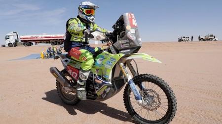 El piloto de motos holandés Edwin Straver está en estado crítico tras una caída en la penúltima etapa del Dakar