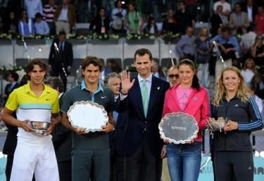 A los famosos les gusta el tenis