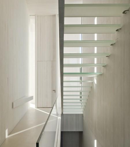 Casa Escalera Vidrio