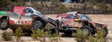 MINI afronta su ataque al sultán Nasser Al-Attiyah en el Dakar de Fernando Alonso