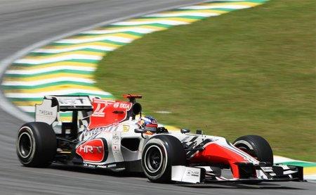 GP de Brasil F1 2011: última carrera del año muy discreta para HRT