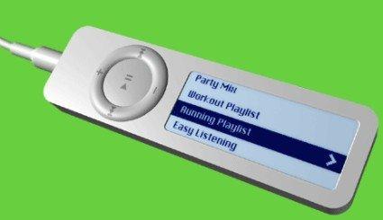 iPod shuflle con pantalla... casi