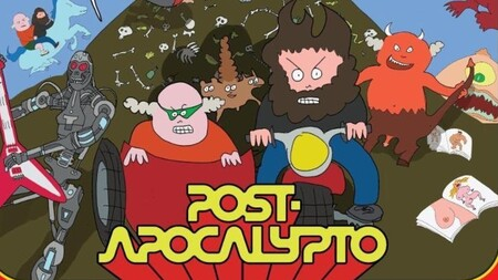 Post Apocalypto Poster