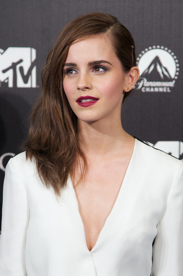 Entre divina y divinérrima Emma Watson en Madrid