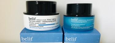 Probamos la crema y el contorno de Belif, un bombazo de hidratación que (de verdad) te cambia la cara