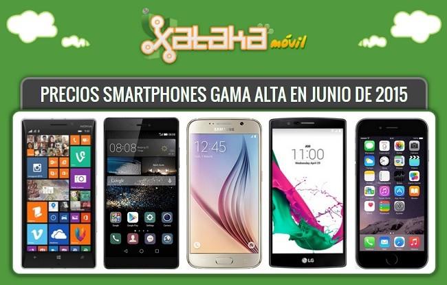 87a9041a294 31 smartphones de gama alta: conoce sus especificaciones y precios con  operadores