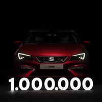 El SEAT León ya ha vendido 1,000,000 de unidades de su tercera generación