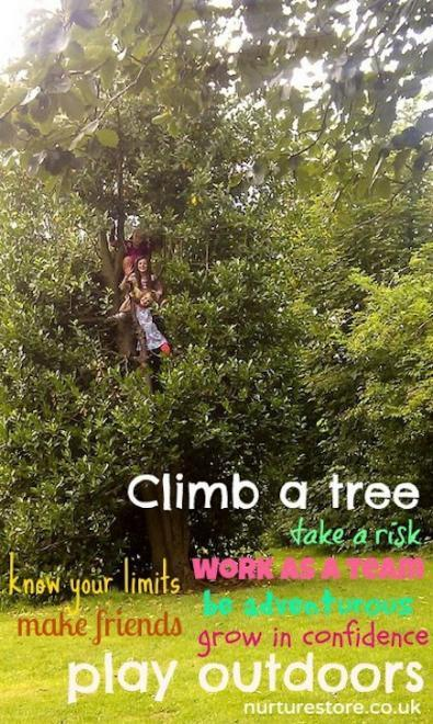 ¡Qué los niños trepen árboles!