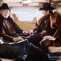 Billionaire le suma lujo al estilo del cowboy en su campaña para este invierno