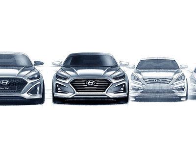 Así de sugerente será el Hyundai Sonata 2018