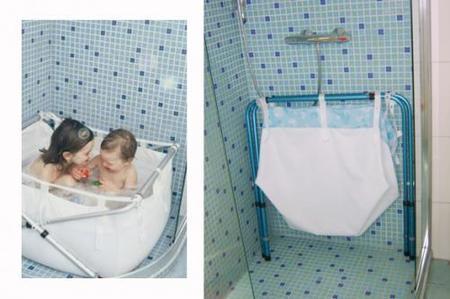 Biba: un baño cómodo para los papás