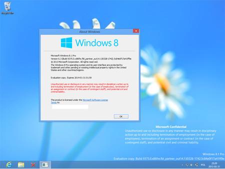 Windows 8.1 será el nombre oficial de la nueva versión de Windows , adiós Blue