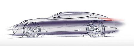 Panamera, primeras imágenes del nuevo modelo de Porsche