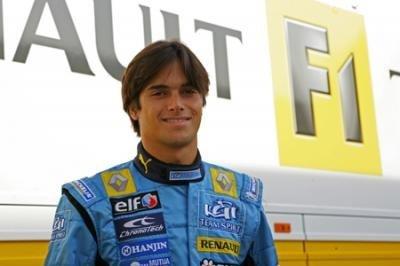 Nelsinho Piquet, probador de Renault