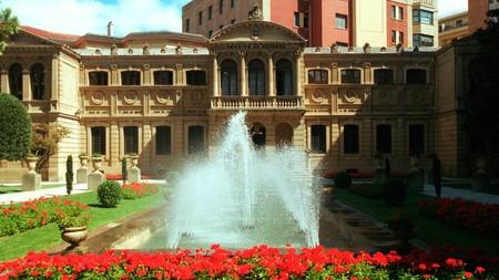 Palacio De Navarra Pamplona Jardines 1024x575