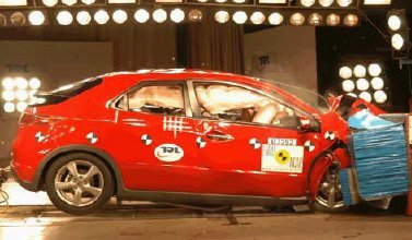 Honda Civic 2006, cuatro estrellas en Euroncap