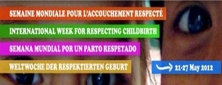 Semana Mundial del Parto Respetado 2012