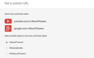 """YouTube ofrece a sus creadores de contenido una nueva URL más acorde con su """"marca"""""""
