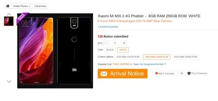 Xiaomi Mi Mix2 Gb1