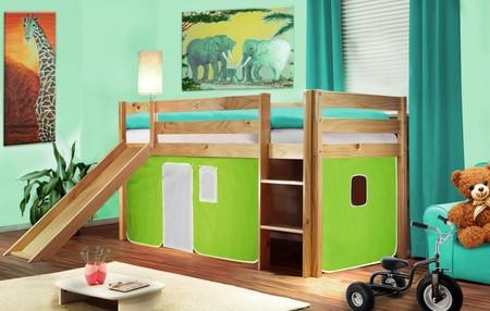 Siete ideas formidables para incorporar el verde en un dormitorio infantil