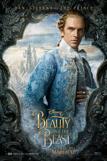 Dan Stevens Beauty And The Beast Human Form