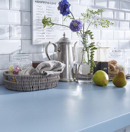 ¿Es el azul el color del 2017 para tu cocina? Todo apunta a que sí
