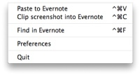 Clipper de evernote