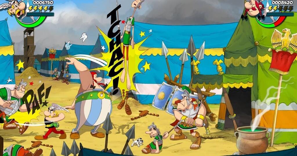 Así son las ediciones físicas para PS4, Xbox One y Nintendo Switch de Asterix & Obelix: Slap them All!: porrazos a romanos por doquier