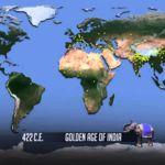 El aumento de habitantes de la Tierra en un vídeo