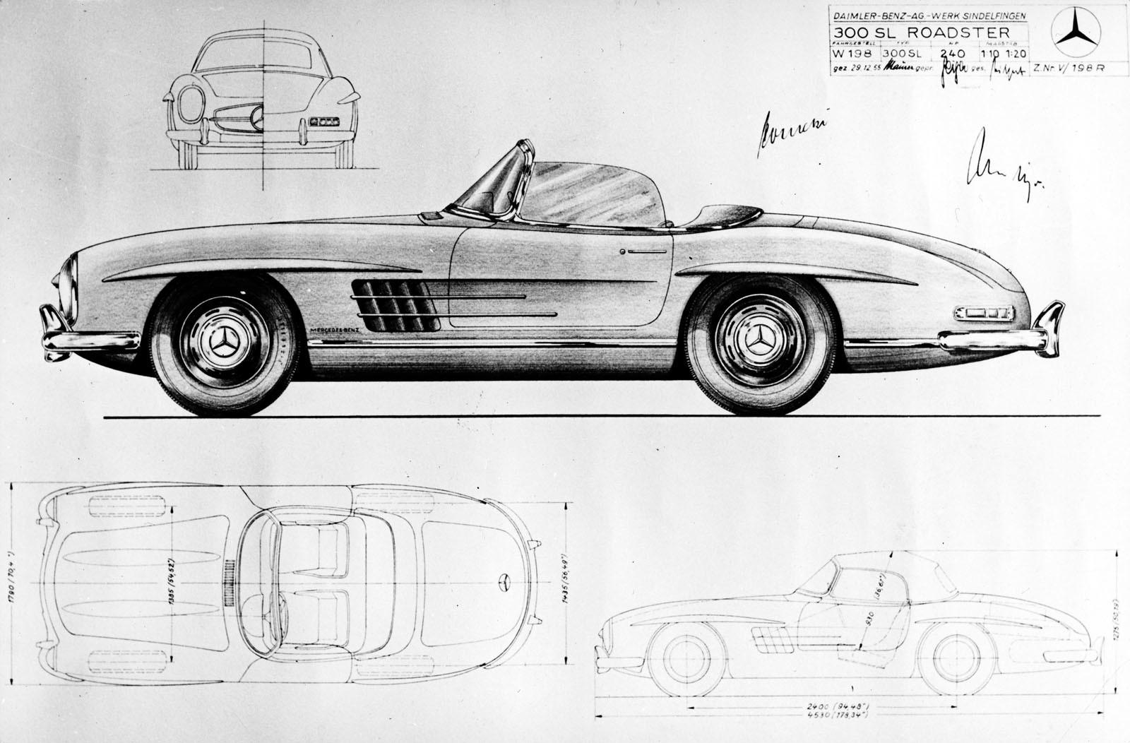 Foto de Mercedes 300 SL Roadster (60 aniversario) (7/21)