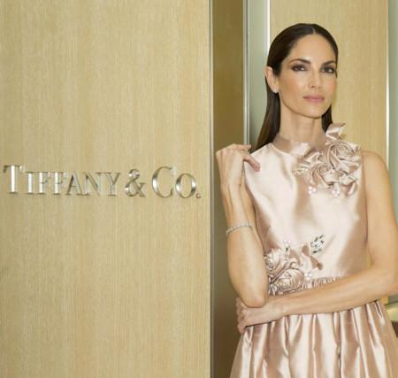 Eugenia Silva en la piel de Audrey Hepburn al inaugurar una nueva tienda Tiffany