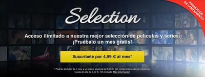 Selection, el Plan Premium de Wuaki cambia de nombre y se rebaja a 4,99 euros