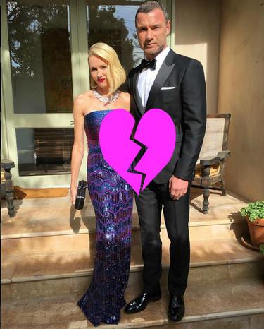 ¡Que alguien pare esto! Naomi Watts y Liev Schreiber se separan
