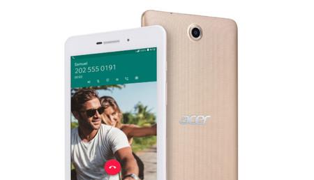 Acer Iconia Talk 7, para que no dejes de llamar por teléfono desde tu tablet