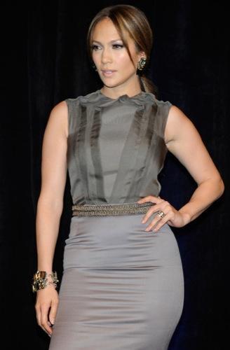 Tendencias en peinados para la Primavera-Verano 2010: el estilo de las celebrities. Jennifer Lopez