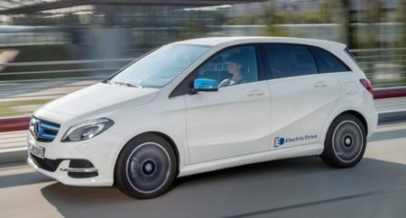 Mercedes Benz Claseb Electric Drive 2015