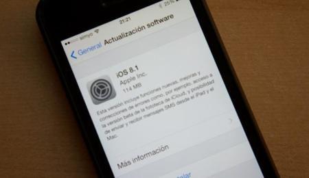 iOS 8.1: actualización, copias de seguridad y restaurar