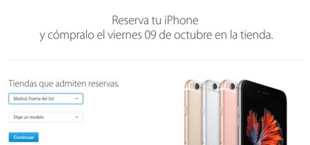 Apple abre las reservas online de iPhone 6s para recoger en tienda