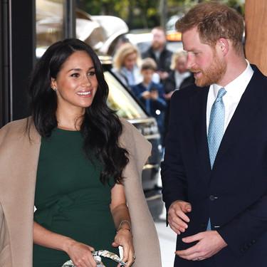 Meghan Markle rescata de su armario el vestido verde de su compromiso
