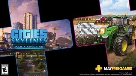 Cities: Skylines y Farming Simulator 19 entre los juegos de PlayStation Plus de mayo de 2020