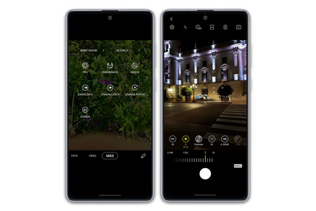 Samsung Galaxy Note10 Lite Camara App Interfaz
