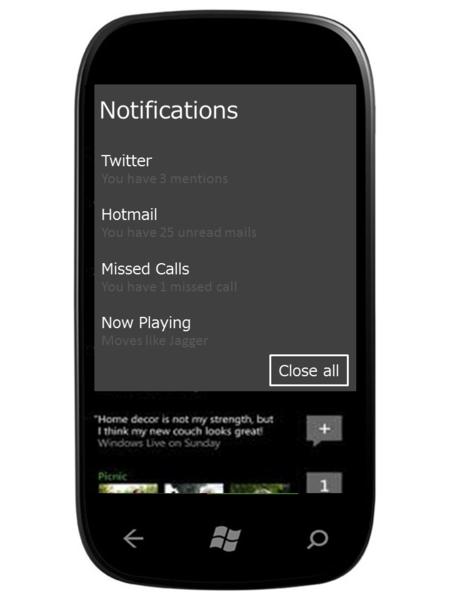 ¿Necesita Windows Phone una barra de notificaciones? La pregunta de la semana