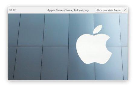 Mac OS X Lion Quicklook Fotos