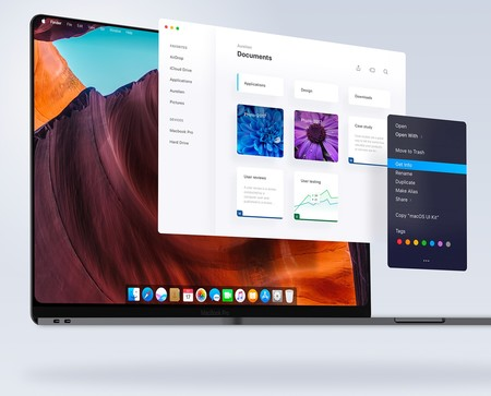 Concepto de interfaz unificada de iOS y macOS