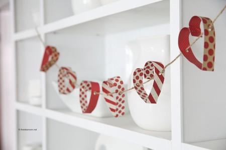 Manualidades San Valentin Guirnalda