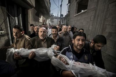 Paul Hansen es el ganador del World Press Photo of the Year 2012