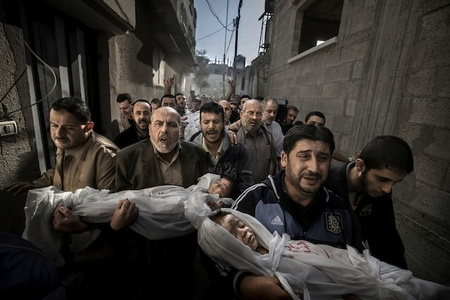Paul Hansen es el ganador del World Press Photo of the Year 2012
