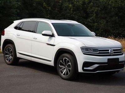 """¡Filtrado! Así es el Volkswagen Teramont Cross Sport, una versión """"coupé"""" del SUV"""