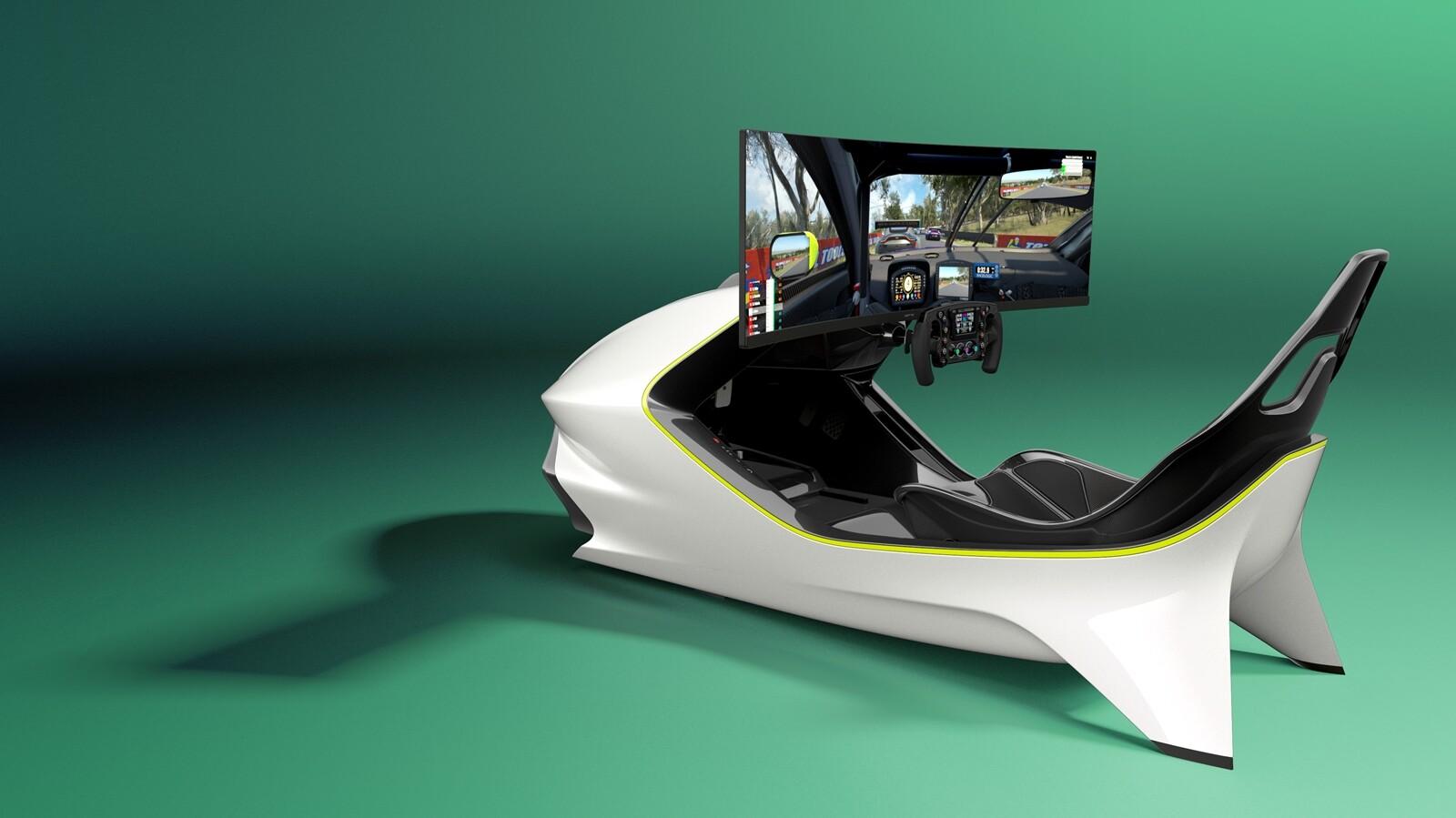 Foto de Simulador Aston Martin AMR-C01 (11/19)